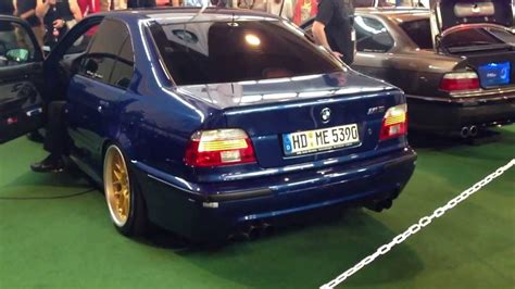 bmw   acceleration loud exhaust tuning world