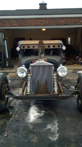 sell   rat rod dodge brothers truck hot rod tunnel