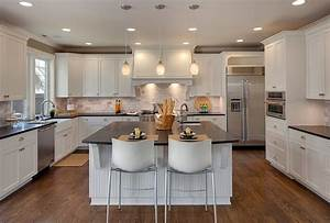 Enthralling Kitchen Plans with Island and Kohler