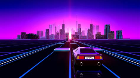bildresultat fr 80s neon road neon wallpaper aesthetic