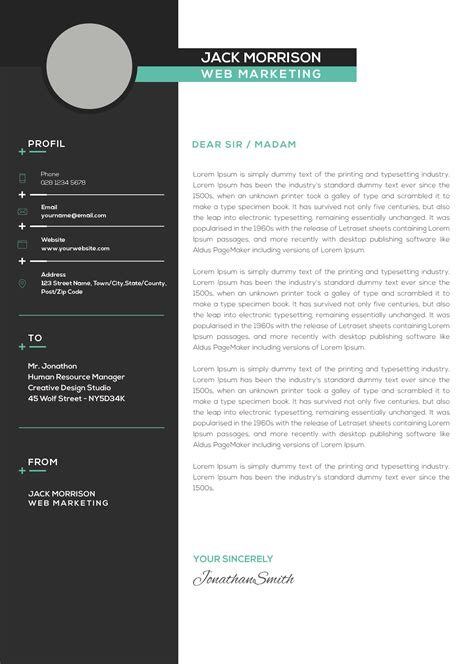 marketing resume template resume template easy http