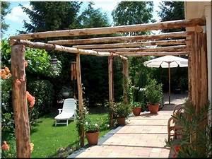 Garten Pergola Selber Bauen : pergola pergola bau rustikale schattenspender im garten ~ A.2002-acura-tl-radio.info Haus und Dekorationen
