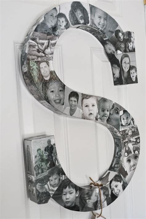 photo collage monogram   birch cottage