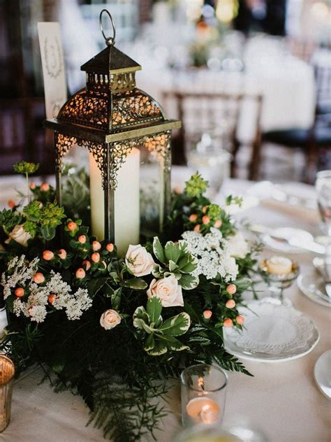 19 Best Rustic Lantern Centerpieces For Bridal Shower 2019