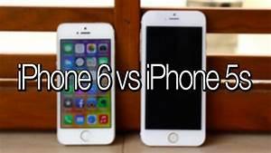 Iphone 6  Mockup  Vs Iphone 5s  Il Confronto Di