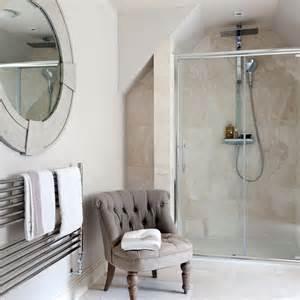 en suite bathrooms ideas classic en suite bathroom with travertine tiles housetohome co uk