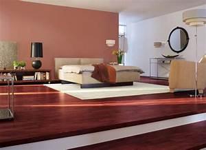 wandgestaltung in braun schoner wohnen farbe savanne With schöner wohnen schlafzimmer farbe