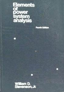 Elements Of Power System Analysis  Solutions Manual  By