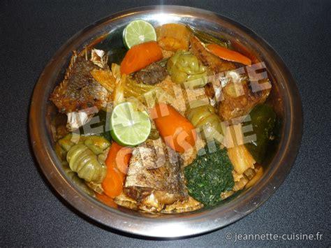 tiep bou dienn riz au poisson plat africain