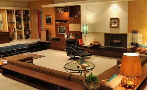 style   set don drapers swanky pad  mad men