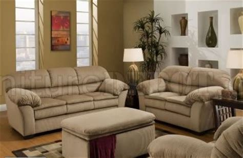 Microfiber And Loveseat Sets by Beige Microfiber Sofa Loveseat Set W Optional Chair