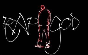 Neon Rap God Music & Entertainment Background Wallpapers