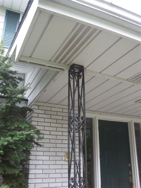 How To Replace Front Porch Columns by Help For Porch Column Replacement Cover
