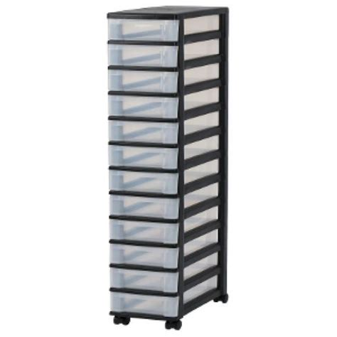 rangement bureau papier tours de rangement douze tiroirs tour de rangement noir