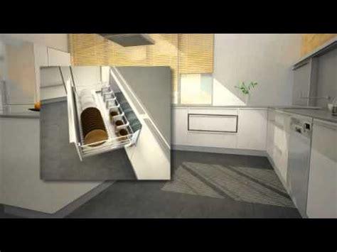 linea compact equipamiento interior de muebles de cocina youtube