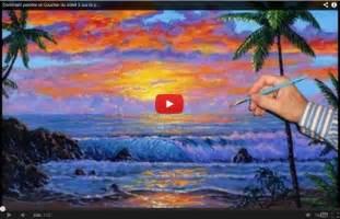 comment peindre un coucher du soleil 2 sur la page cour de peinture acrylique sur toile pearltrees