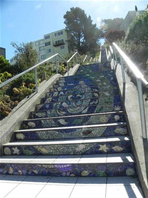 16th ave tiled steps project escalera de mosaicos picture of 16th ave tiled steps