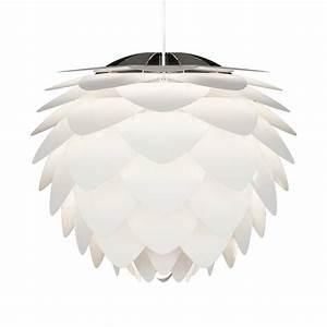 Suspension Luminaire Blanc : suspension scandinave silvia 50cm by vita copenhagen drawer ~ Teatrodelosmanantiales.com Idées de Décoration