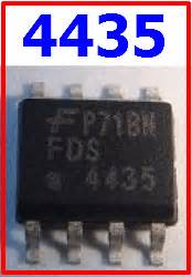 4435 Datasheet - 30v P-ch Powertrench Mosfet