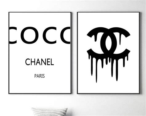 Best 25+ Chanel Wall Art Ideas On Pinterest
