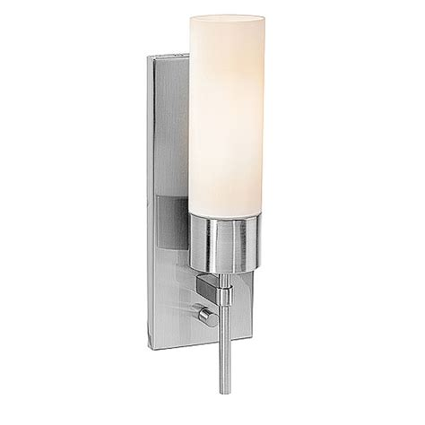 cylindrical wall sconce with on switch 50562 bs opl