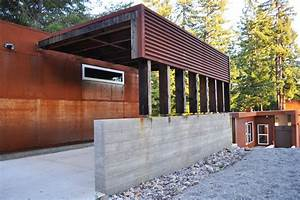 Attached Carport Plans Garage And Shed Modern With Bruce