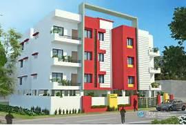 Apartment modern exter...