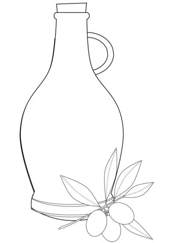 Coloring Oleo by Olive Coloring Page Free Printable Coloring Pages