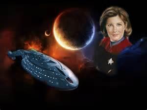 Star Trek Voyager Captain Janeway