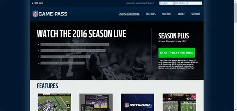 pass game nfl much cost streaming worth really does