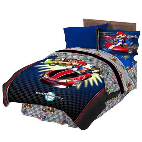 super mario bros bedding full canada mario comforter fitted sheet sets for boys bedroom we buy cheaper