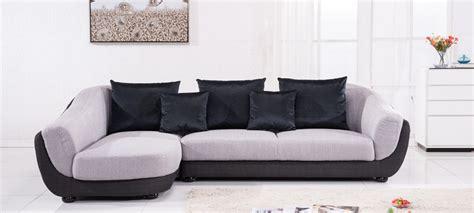 canap d angle tissus canapé d 39 angle gauche tissu gris colorado