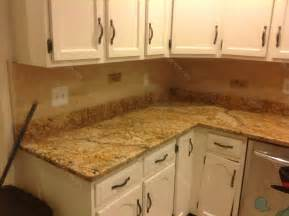 backsplash for kitchen countertops mac s before after solarius granite countertop backsplash design granix