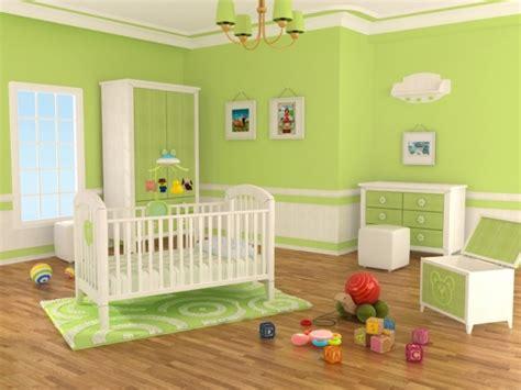 chambre bebe verte deco chambre bebe vert anis