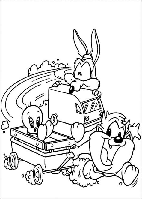 looney tunes coloring pages free printable looney tunes coloring pages for