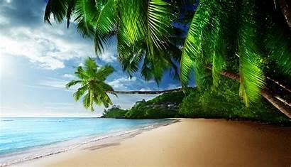 Tropical Paradise Coast Beach Wallpapers Desktop Background
