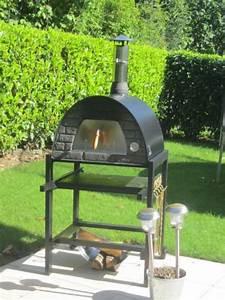 Four Pizza Exterieur : four a pizza et four a pain maximus avec charriot noir ~ Melissatoandfro.com Idées de Décoration