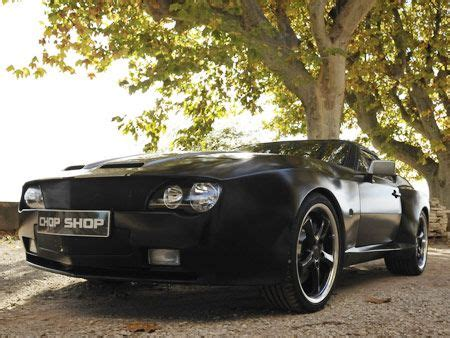 chop shop london garage david ginola custom car  beauty