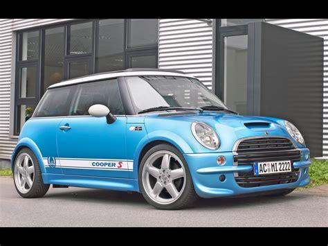 2003 Ac Schnitzer Mini Cooper S Front Angle Blue