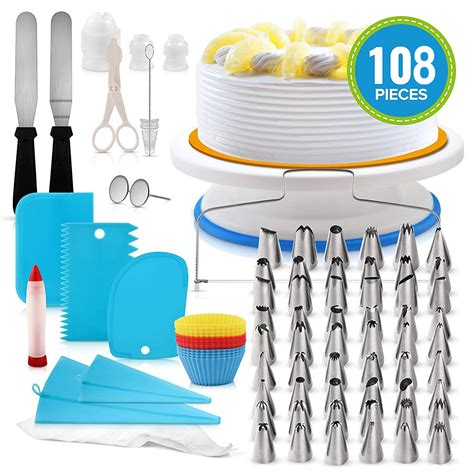 pcs cake decorating supplies kit  beginners