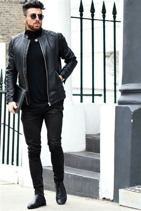 All Black Outfits For Men Black on Black Outfit Inspiration u2013 LIFESTYLE BY PS
