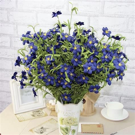 plant small wedding decoration artificial flowers cheap