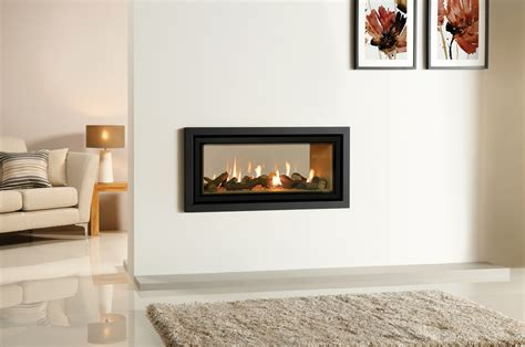 ventless fireplace insert ethanol studio duplex sided gas fires