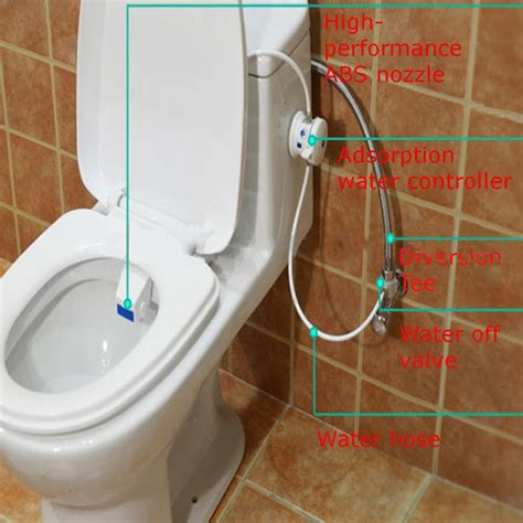 Bidet Wash by Smart Hygiene Easy Toilet Bidet Seat Sprayer Water Wash