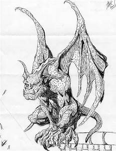 Gargoyle by Alpha-Wolf-Rage009 on DeviantArt