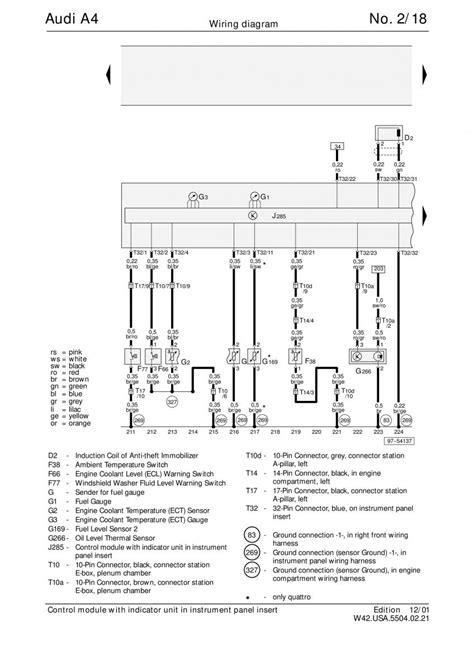 manual audi a4 b5 audi a4 b5 wiring diagrams schematy page 18 pdf