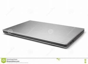 Closed laptop stock image. Image of blank, beautiful ...