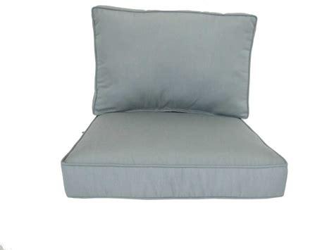 Meadowcraft Patio Furniture Cushions by Meadowcraft Box Edge Seat Back Cushion Set 5102 01