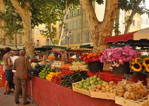 cuisine provence market day in aix en provence cooking classes and a