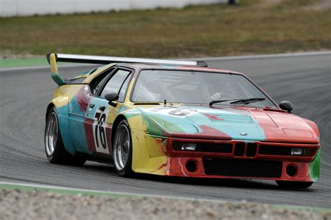 BMW Car : 1979 Bmw M1 Art Car Will Be Displayed At Saratoga